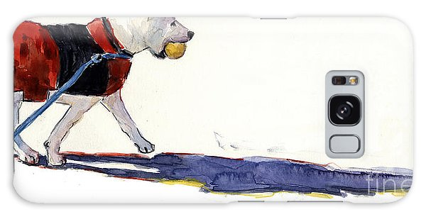 Leash Galaxy Case - Walk In The Park by Molly Poole