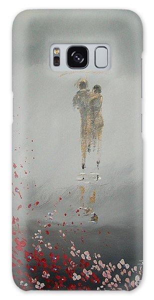 Walk In The Storm Galaxy Case by Raymond Doward