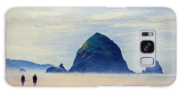 Walk On The Beach Galaxy Case by Jeff Kolker