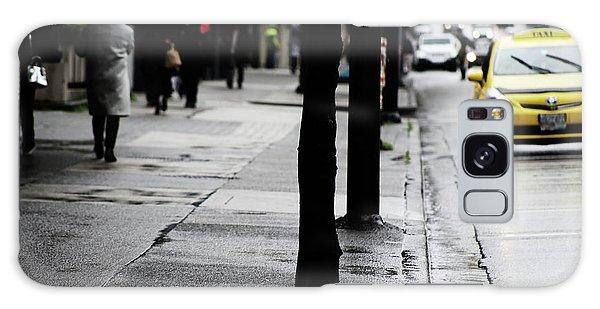 Walk Or Cab Galaxy Case by Empty Wall