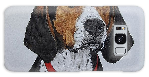 Galaxy Case - Walker Coonhound - Cooper by Megan Cohen