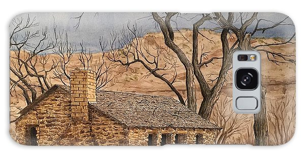 Walker Homestead In Escalante Canyon Galaxy Case
