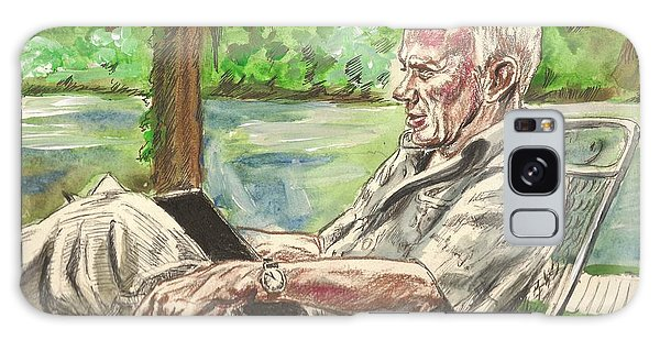 Walker Percy At The Lake Galaxy Case
