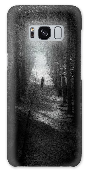 Walking Alone Galaxy Case