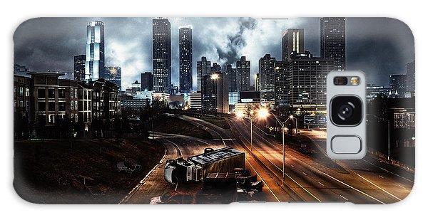 Walking Dead Tribute Downtown Atlanta Georgia  Galaxy Case