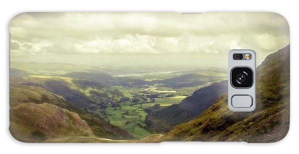 Walking In The Mountains, Lake District, Galaxy Case