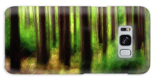 Walking In The Woods Galaxy Case