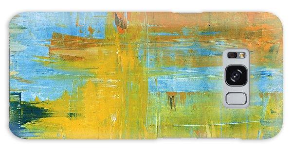 Walking On Sunshine - 48x48 Huge Original Painting Art Abstract Artist Galaxy Case
