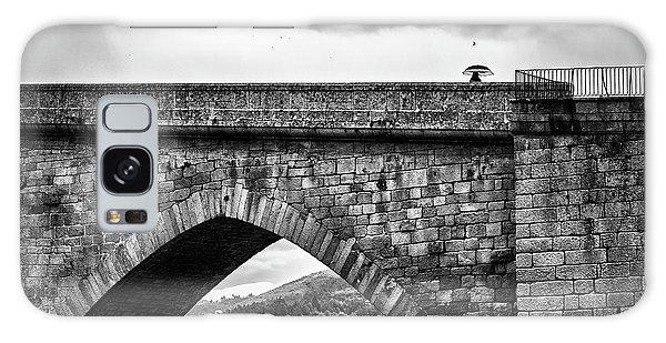 Walking On The Roman Bridge Galaxy Case