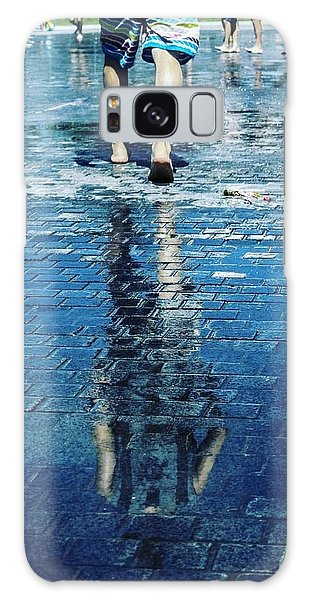 Galaxy Case - Walking On The Water by Nerea Berdonces Albareda