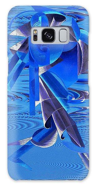 Walking On Water Galaxy Case by Robert G Kernodle