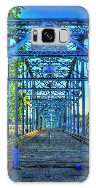 Walking Tall Walnut Street Pedestrian Bridge Art Chattanooga Tennessee Galaxy Case