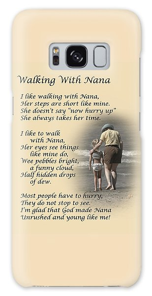 Walking With Nana Galaxy Case