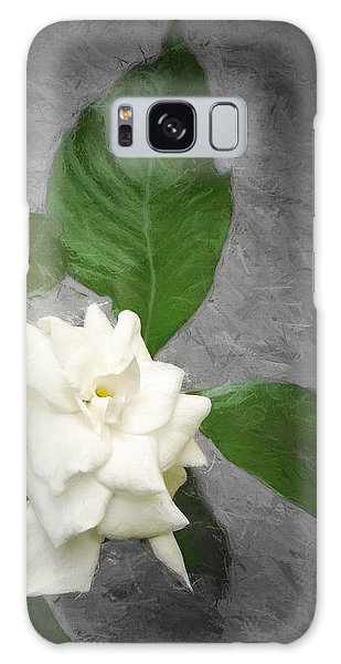 Wall Flower Galaxy Case by Carolyn Marshall