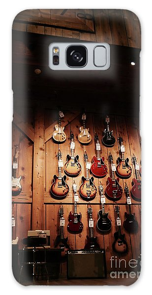 Wall Of Guitars 2 - Guitar Center Hollywood Galaxy Case