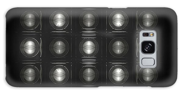 Galaxy Case - Wall Of Roundels - 5x3 by Jules Gompertz