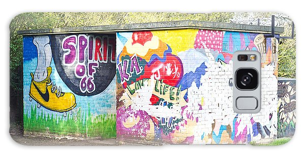 Bury St Edmunds Galaxy Case - Wall Painting  by Tom Gowanlock