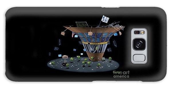 Martini Galaxy S8 Case - Wall St Martini by Michael Godard