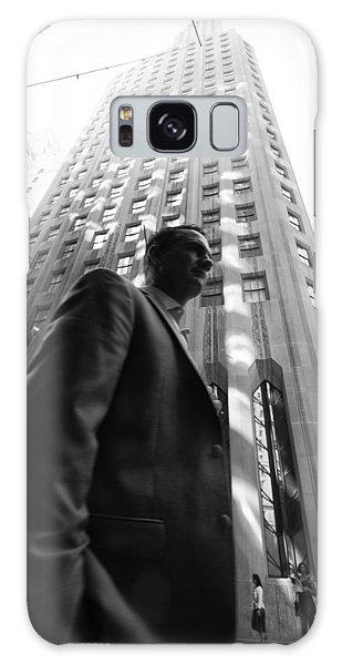 Wall Street Man II Galaxy Case by Dave Beckerman