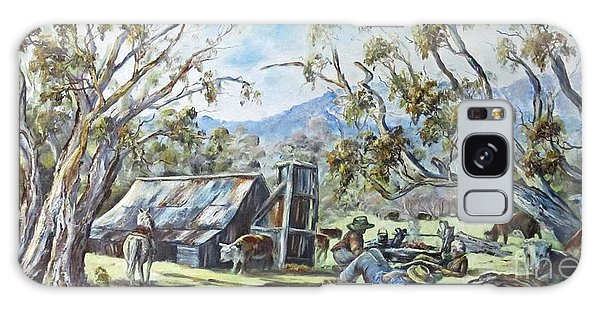 Wallace Hut, Australia's Alpine National Park. Galaxy Case