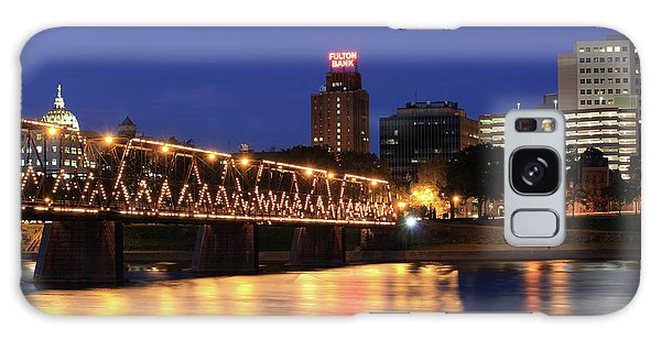 Walnut Street Bridge Galaxy Case