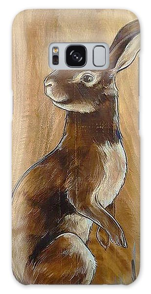 Walnutty Bunny Galaxy Case by Jacque Hudson