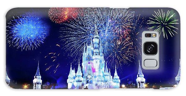 Walt Disney Galaxy Case - Walt Disney World Fireworks  by Mark Andrew Thomas