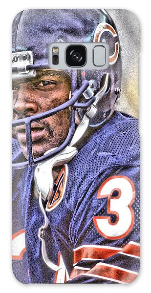 Chicago Art Galaxy Case - Walter Payton Chicago Bears Art by Joe Hamilton
