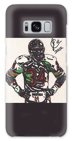 Walter Payton Galaxy Case by Jeremiah Colley