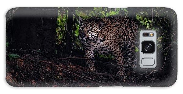 Wandering Jaguar Galaxy Case by Wade Aiken