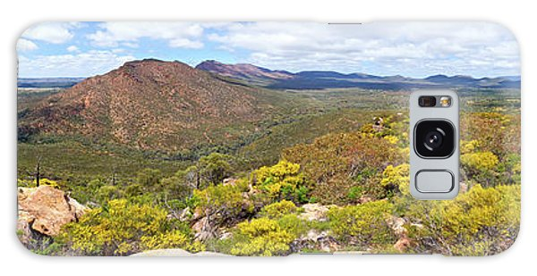 Wangara Hill Flinders Ranges South Australia Galaxy Case by Bill Robinson