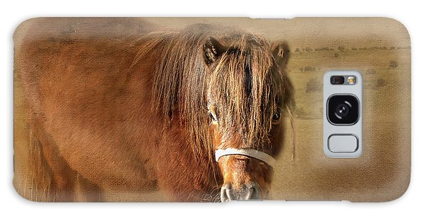 Galaxy Case featuring the photograph Wanna Be Friends? by Wallaroo Images