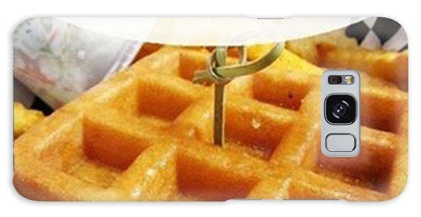 Motivational Galaxy Case - Wanna Be Like A Waffle Or A Pancake? by Stephanie Low