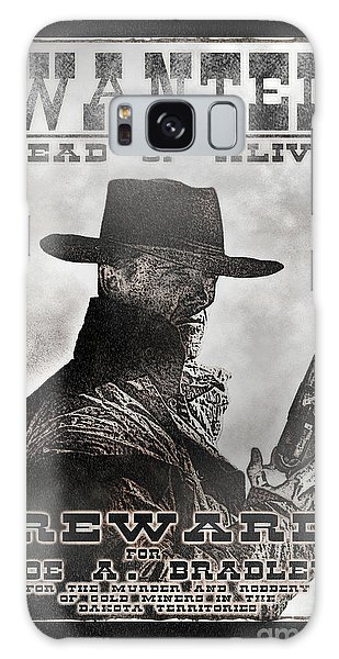 Wanted Poster Notorious Outlaw Galaxy Case