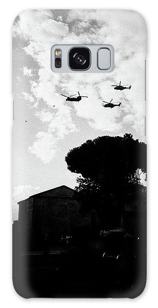 War Helicopters Over The Imperial Fora Galaxy Case