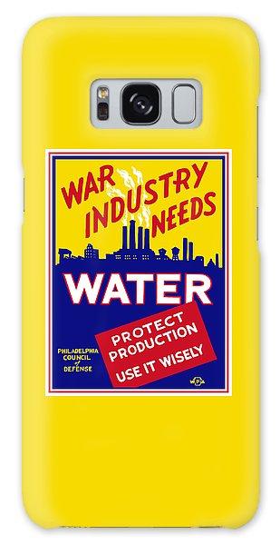 Industry Galaxy Case - War Industry Needs Water - Wpa by War Is Hell Store