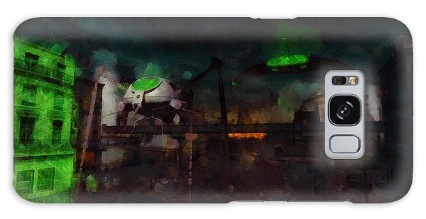 Strange Galaxy Case - War Of The Worlds by Esoterica Art Agency