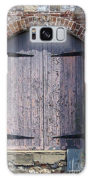 Warehouse Wooden Door Galaxy Case