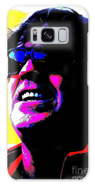 Warhol Robbie Galaxy Case by Jesse Ciazza