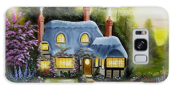 Warm And Cozy Cottage Galaxy Case