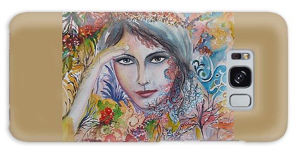 Warm Autumn Galaxy Case by Rita Fetisov