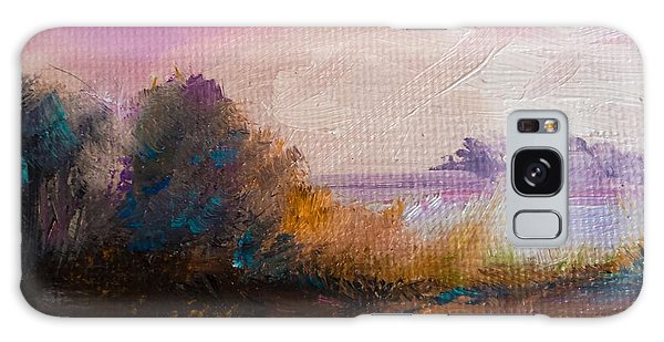 Warm Colorful Landscape Galaxy Case by Michele Carter