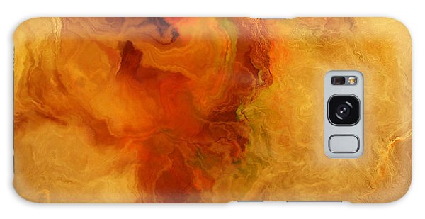 Warm Embrace - Abstract Art Galaxy Case