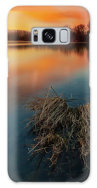 Galaxy Case featuring the photograph Warm Evening by Davor Zerjav