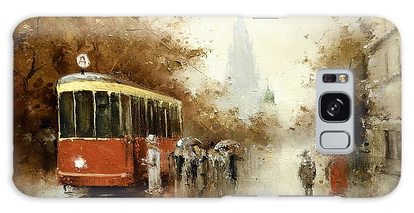 Warm Moscow Autumn Of 1953 Galaxy Case by Igor Medvedev