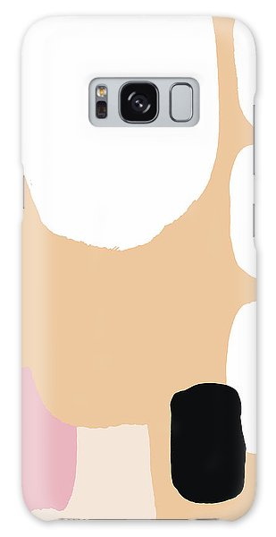 Warm Pastel Abstract Galaxy Case