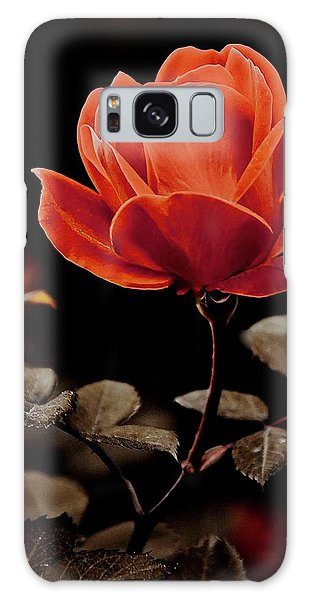 Warm Sepia Rose Galaxy Case