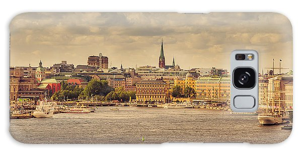 Warm Stockholm View Galaxy Case