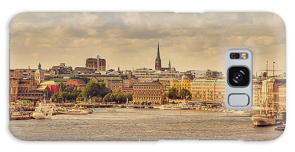 Warm Stockholm View Galaxy Case by RicardMN Photography