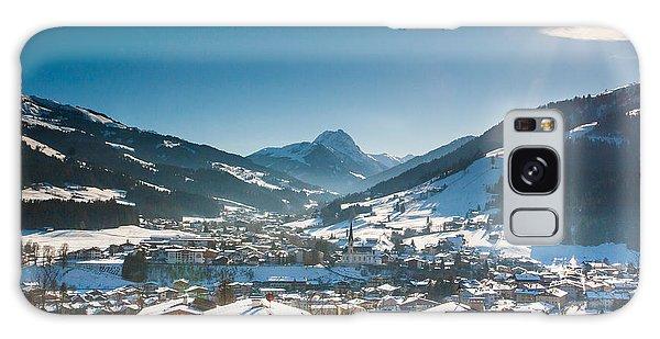 Warm Winter Day In Kirchberg Town Of Austria Galaxy Case